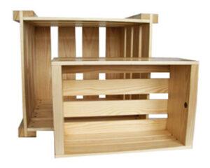 Купить ящик деревянный в Московской области компании Палета